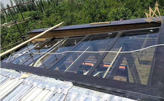 سقف متحرک اتوماتیک