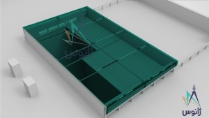 سقف متحرک اتوماتیک شیشه ای