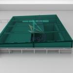 سقف متحرک شیشه ای