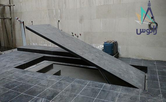 دریچه همسطح برقی