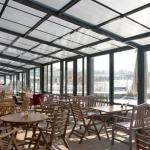 سقف متحرک کافی شاپ یا رستوران