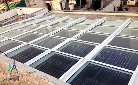 سقف شیشه ای جمع شو