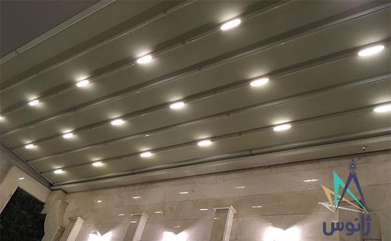 سقف متحرک برقی اقدسیه