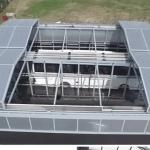 سقف متحرک پارکینگ